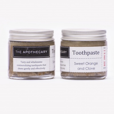 The Apothecary Toothpaste Orange & Clove Cover