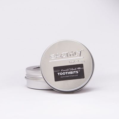 Earthy Toothpaste Bits - Activated Charcoal Cover