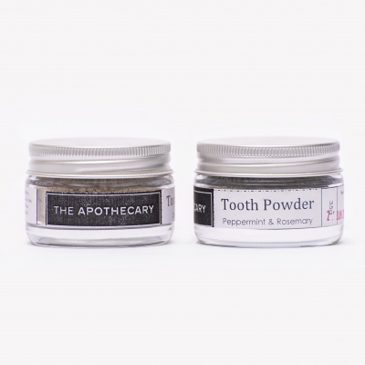 The Apothecary Toothpowder Rosemary & Peppermint Cover