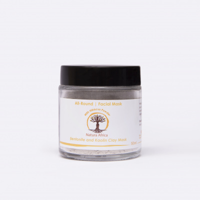 Natura Africa Facial Mask - All-Round (normal skin) with Hibiscus Powder Cover