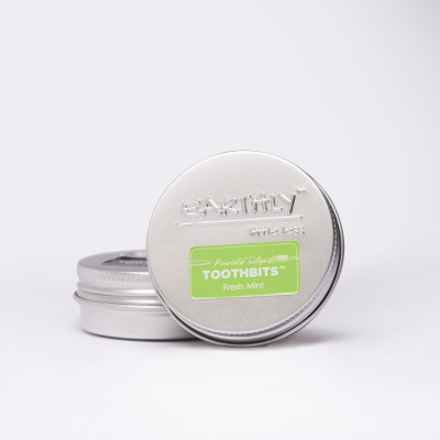 Earthy Toothpaste Bits - Fresh Mint Cover