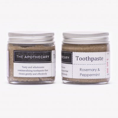 The Apothecary Toothpaste Rosemary & Peppermint Cover