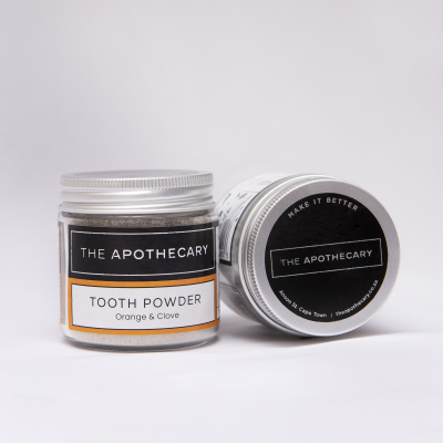 The Apothecary Toothpowder Orange & Clove 35g Cover