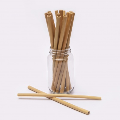 Bamboo Straw Cover