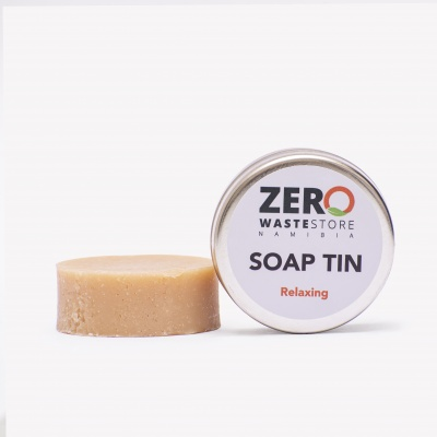 Round Soap Relax 75g Cover